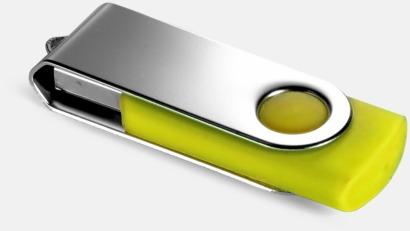 Gul (YellowC) USB Minne Twist