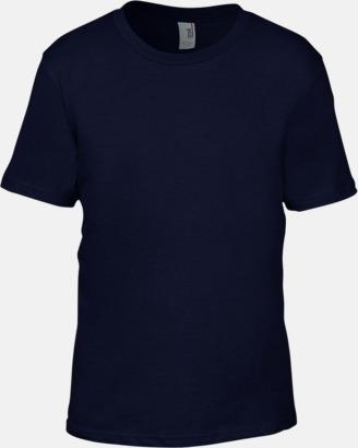Marinblå (barn) Snygga bas t-shirts för herr, dam & barn - med reklamtryck
