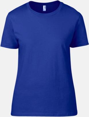 Neon Blå (dam) Snygga bas t-shirts för herr, dam & barn - med reklamtryck