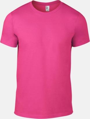 Neon Rosa (herr) Snygga bas t-shirts för herr, dam & barn - med reklamtryck