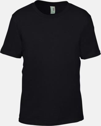 Svart (barn) Snygga bas t-shirts för herr, dam & barn - med reklamtryck