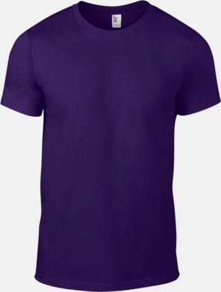 Lila (herr) Snygga bas t-shirts för herr, dam & barn - med reklamtryck