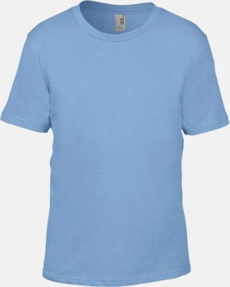 Ljusblå (barn) Snygga bas t-shirts för herr, dam & barn - med reklamtryck