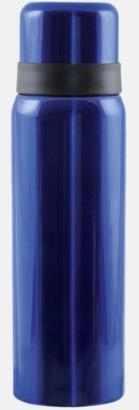 Safirblå Billiga termosar med gravyr