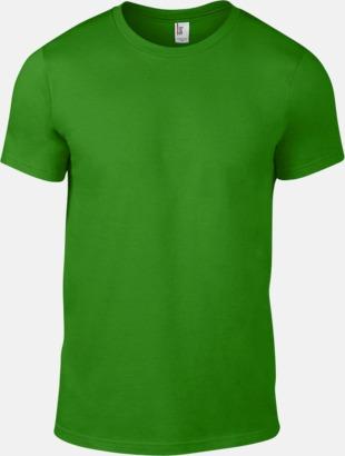 Green Apple (herr) Snygga bas t-shirts för herr, dam & barn - med reklamtryck