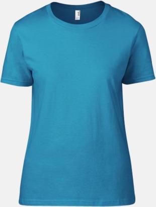 Caribbean Blue (dam) Snygga bas t-shirts för herr, dam & barn - med reklamtryck