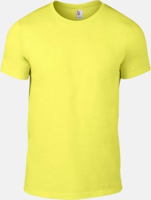 Spring Yellow (herr) Snygga bas t-shirts för herr, dam & barn - med reklamtryck
