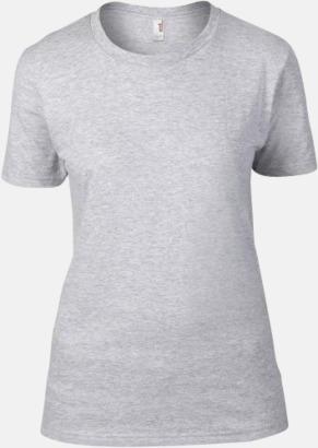 Heather Grey (dam) Snygga bas t-shirts för herr, dam & barn - med reklamtryck