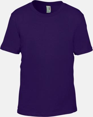 Lila (barn) Snygga bas t-shirts för herr, dam & barn - med reklamtryck