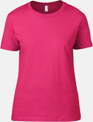 Neon Rosa (dam) Snygga bas t-shirts för herr, dam & barn - med reklamtryck