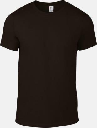 Chocolate (herr) Snygga bas t-shirts för herr, dam & barn - med reklamtryck