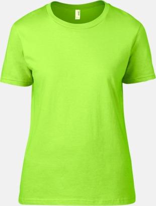 Neon Grön (dam) Snygga bas t-shirts för herr, dam & barn - med reklamtryck