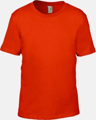 Orange (barn) Snygga bas t-shirts för herr, dam & barn - med reklamtryck