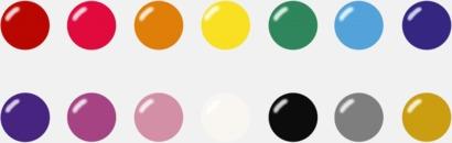 Samtliga färger Stora ballonger med eget reklamtryck