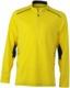 Lemon/Steel Gray (herr) Herr- & damfunktionströjor med reklamtryck