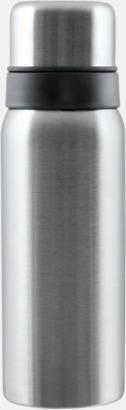 Borstad silver Vildmark Kompakt 0,75 l med reklamtryck